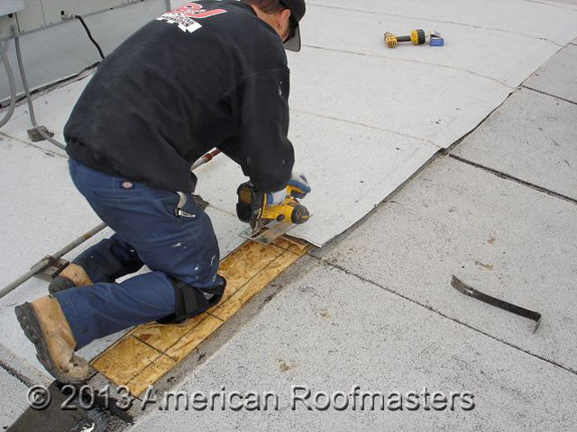 Cap Sheet Roof Repair Photos American Roofmasters