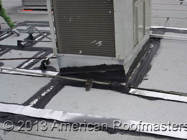 Cap Sheet Roof Repair Photos American Roofmasters