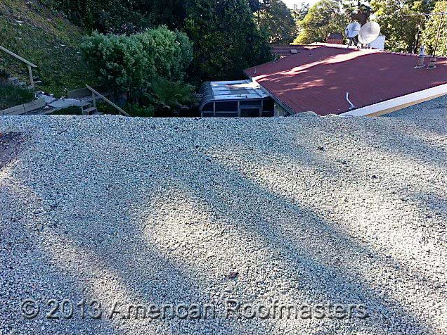 Rock Roof Repair Photos American Roofmasters Torrance Ca